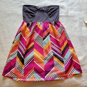 Roxy sun dress - strapless